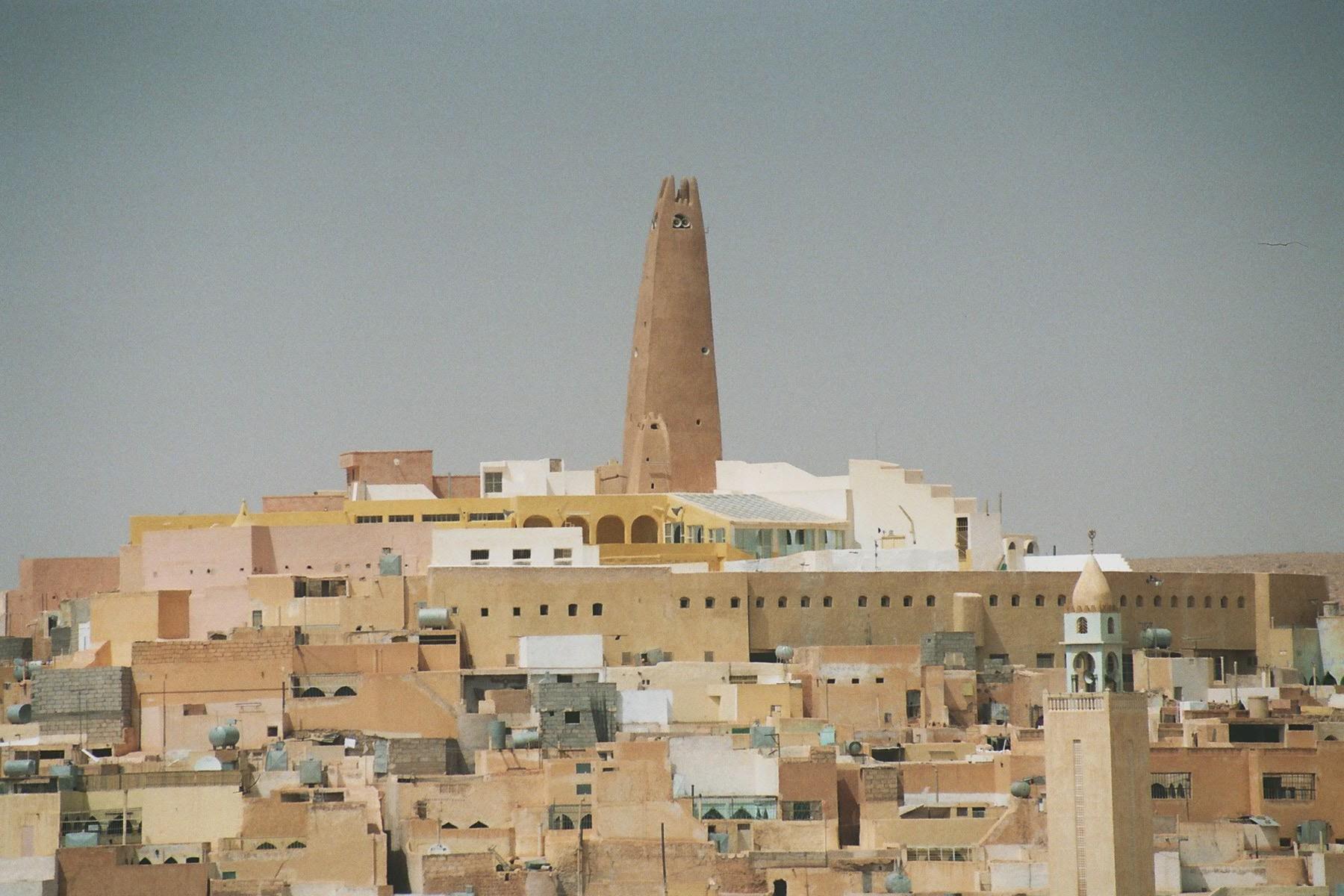Vue sur le ksar de Ghardaïa, photo M. Cheikhab
