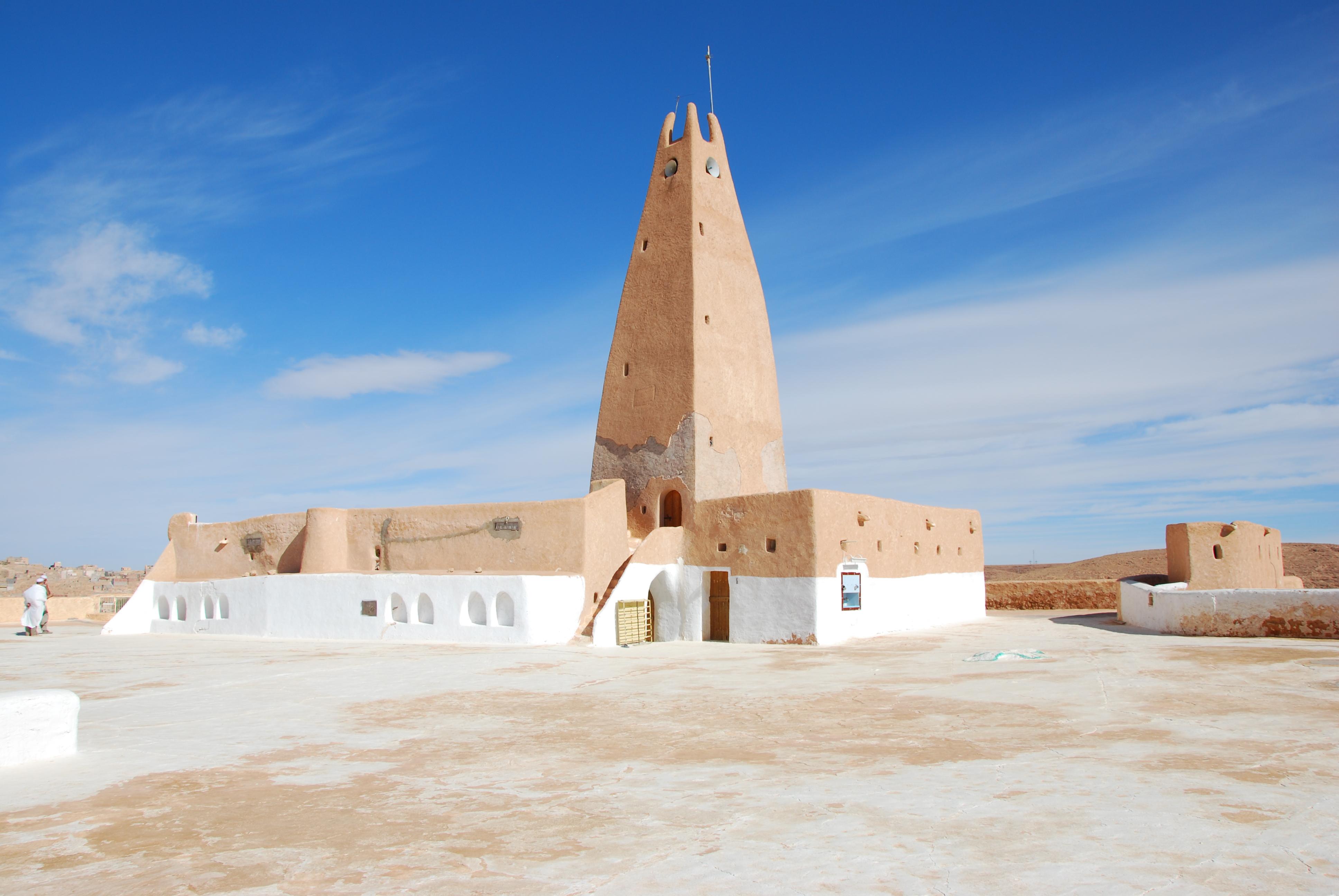 Mosquée du ksar haut de Bou Noura, Mzab (C. Aillet, 2011)